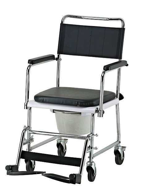 Micro-Touch Commode Chair (With Wheels)