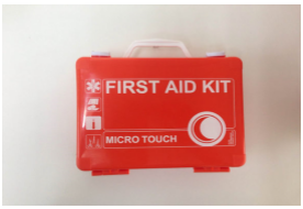 Micro-Touch FIRST AID With Wall Bracket Economy