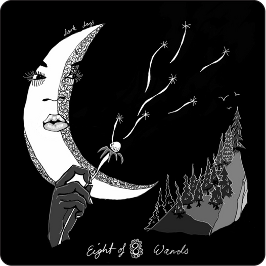 Eight of Wands - Minor Arcana Card