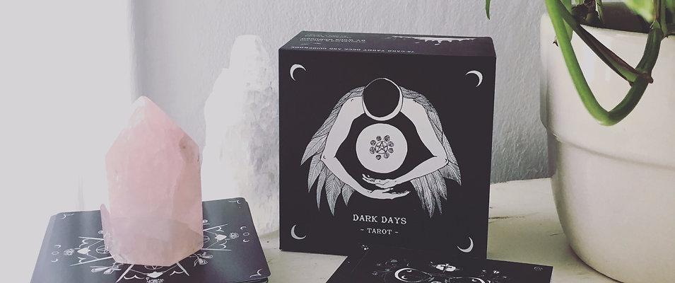 PREORDER: Dark Days Tarot Deck