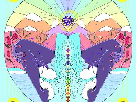 Mother Tarot: Queen of Pentacles