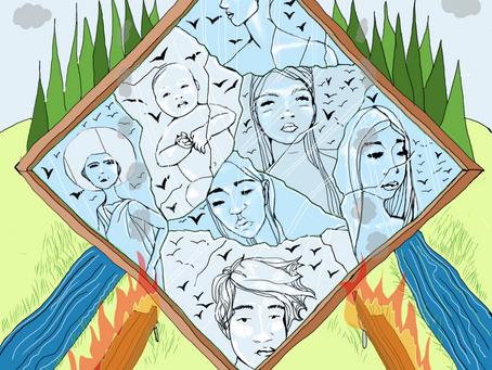 Mother Tarot: Seven of Swords