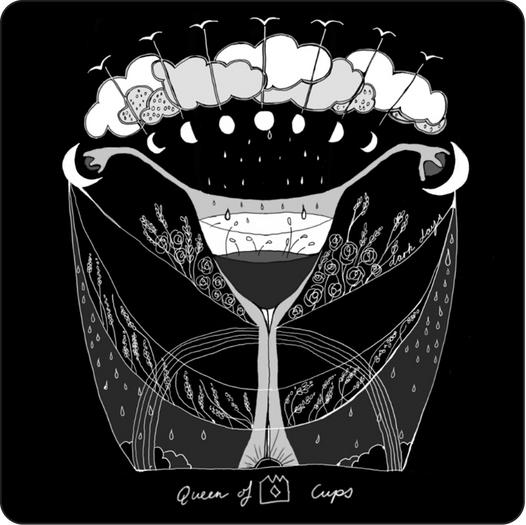 Queen of Cups - Minor Arcana Card