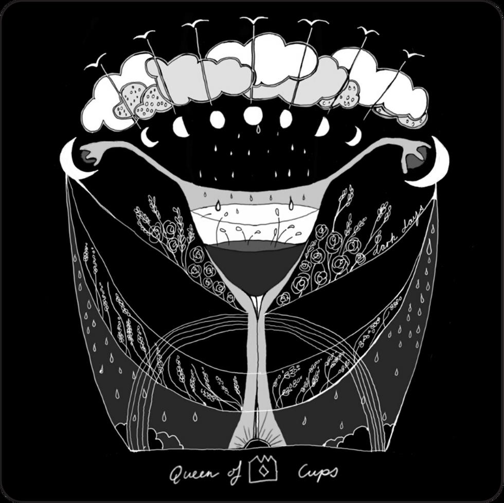 Queen of Cups - Minor Arcana Card