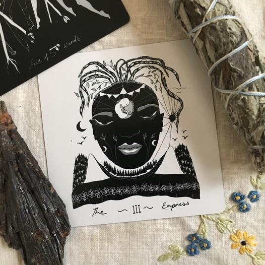 The Empress - Major Arcana Tarot Card #3