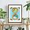 Thumbnail: Infinity Snake Wall Art Print