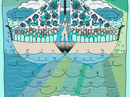 Mother Tarot: King of Cups