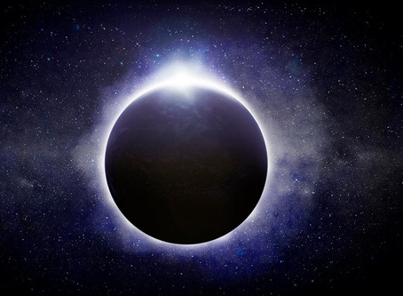 Dark Moon in Leo - New Moon Solar Eclipse