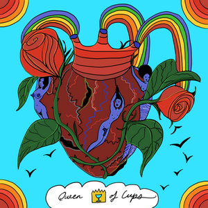Queen of Cups   Mother Tarot Deck by Wren McMurdo