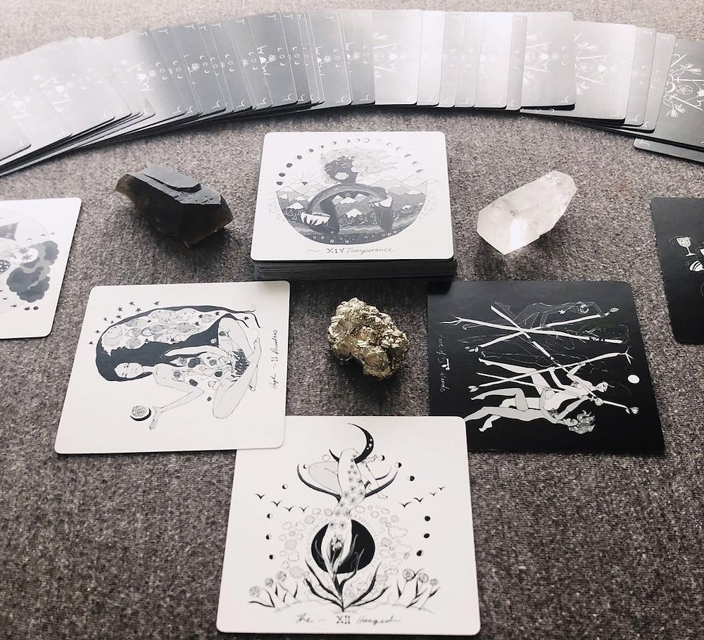 Dark Days Tarot Card Reading | Solitary Tarot Reading by Wren McMurdo