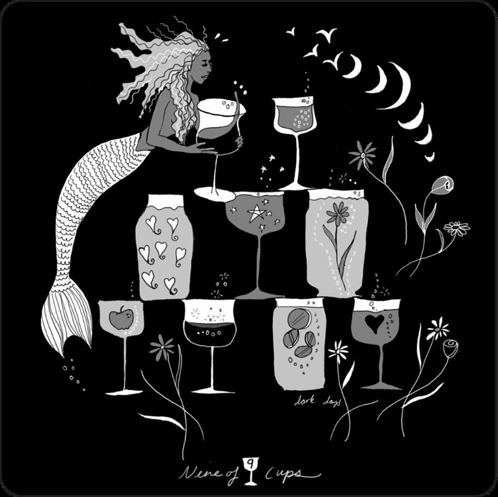 Nine of Cups - Minor Arcana Card
