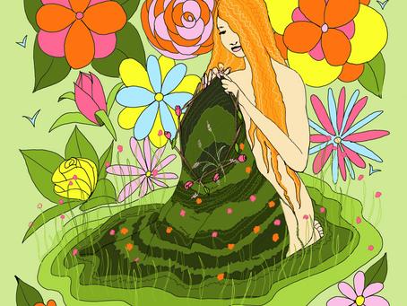 Mother Tarot Deck: Eight of Wands