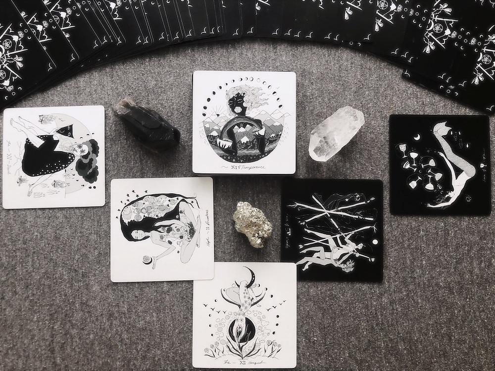 Dark Days Tarot Card Reading | Solitary Reading