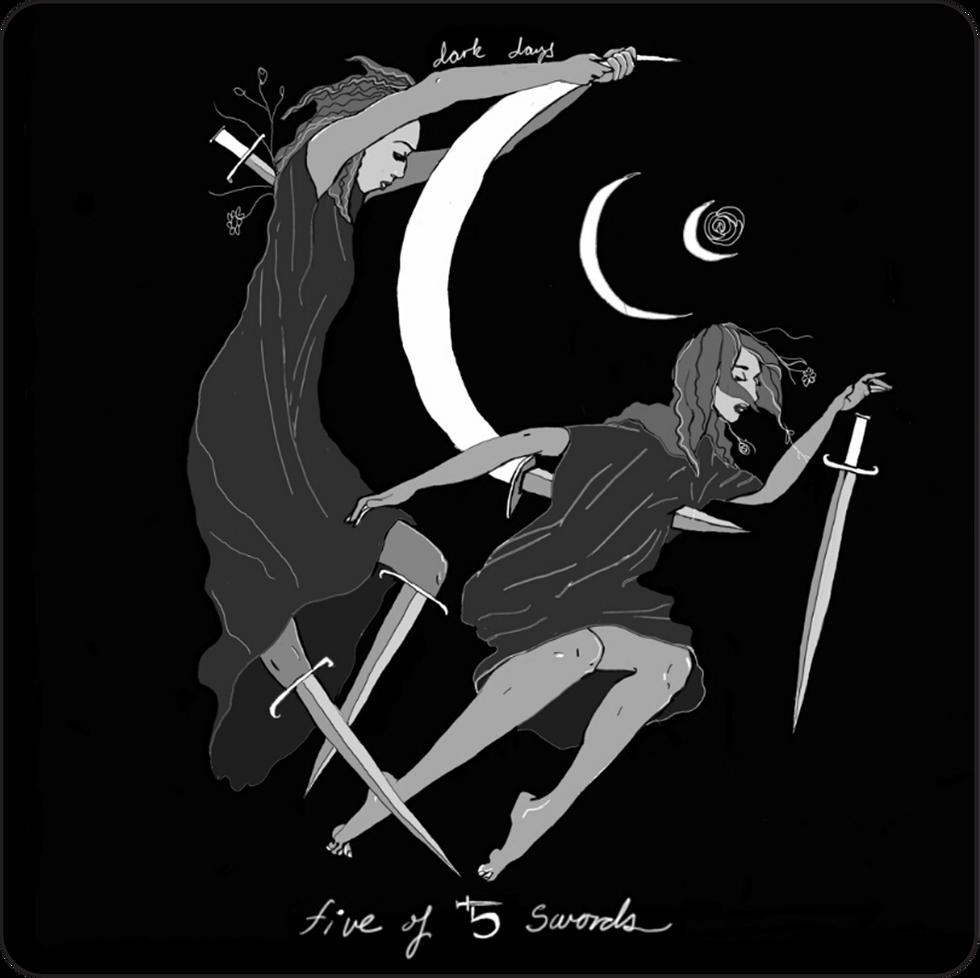 Five of Swords - Minor Arcana Card