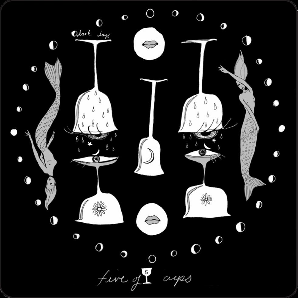 Five of Cups - Minor Arcana Card