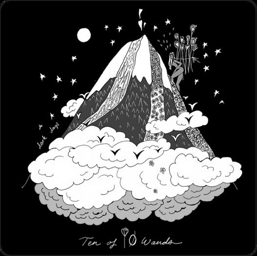 Ten of Wands - Minor Arcana Card