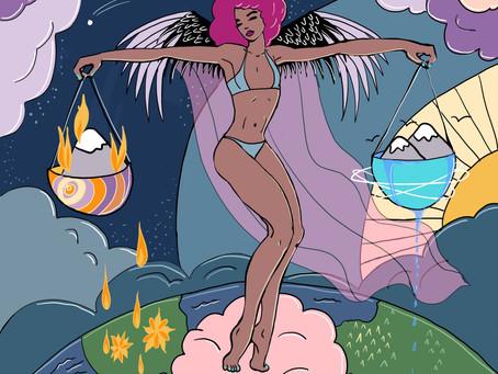 Mother Tarot: Justice