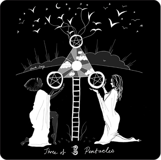 Three of Pentacles - Minor Arcana Card