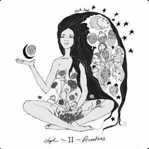 The High Priestess | Dark Days Tarot | Illustrated by Wren McMurdo | Dark Moon Musing by Emily Mundy