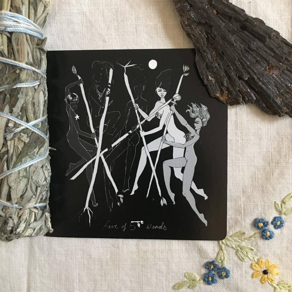 Five of Wands - Minor Arcana Card