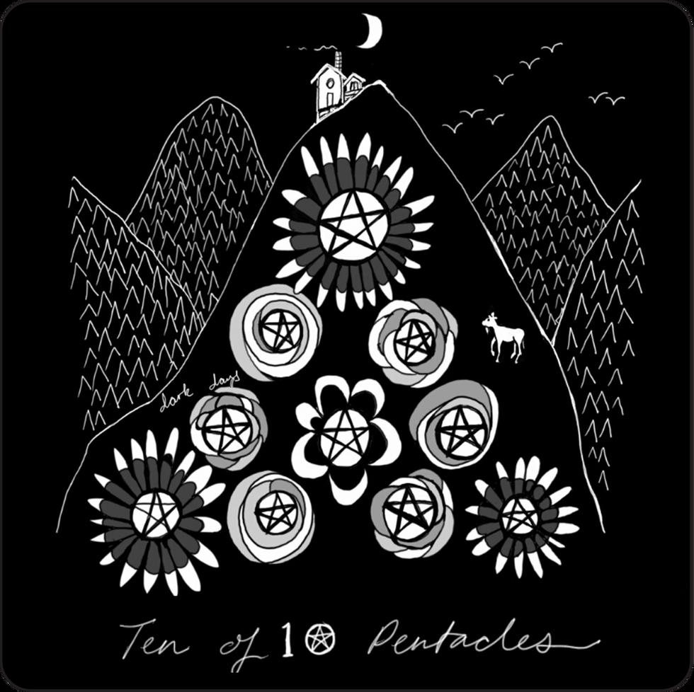 Ten of Pentacles - Minor Arcana Card