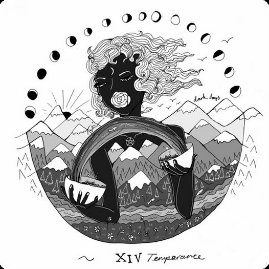 Temperance - Major Arcana Card #14