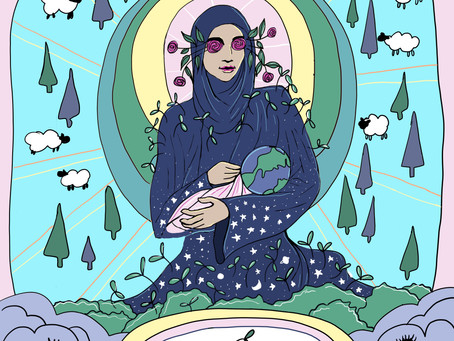 Mother Tarot: Six of Wands