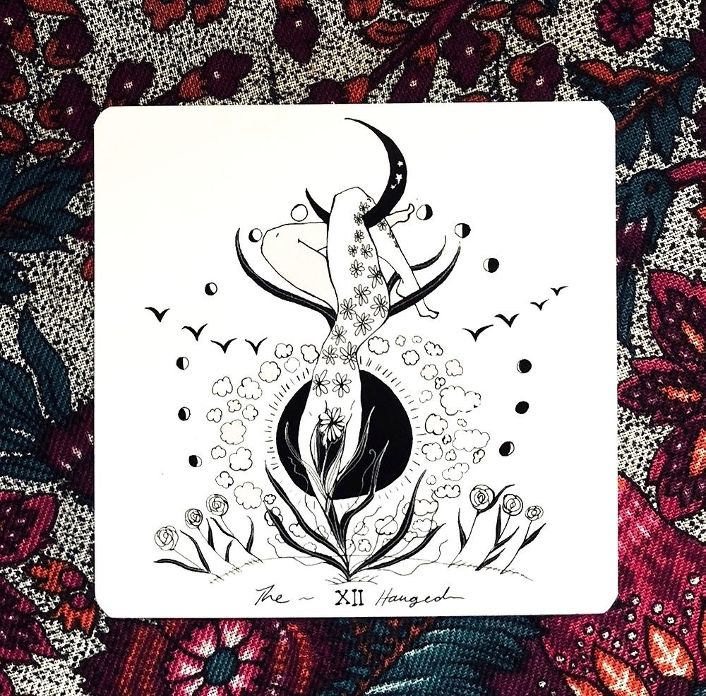 Temperance | Dark Days Tarot | by Wren McMurdo