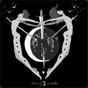 Three of Swords / Dark Days Tarot