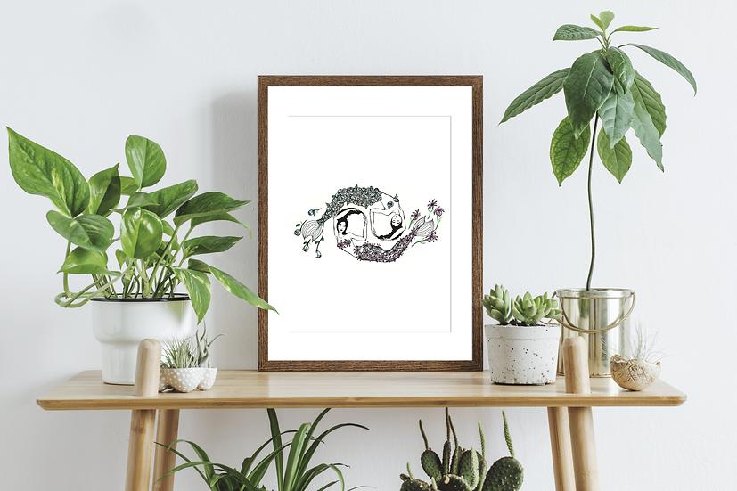 Cancer Zodiac Wall Art Print
