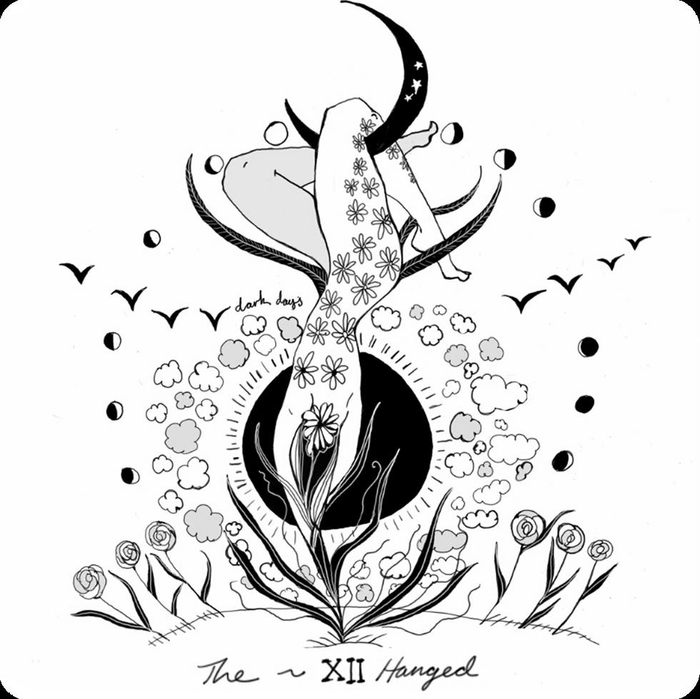 The Hanged - Major Arcana Card #12