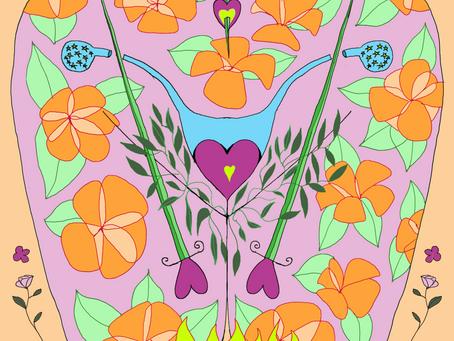 Mother Tarot Deck: Three of Swords