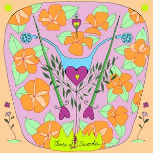 Three of Swords | Mother Tarot Deck by Wren McMurdo Brignac
