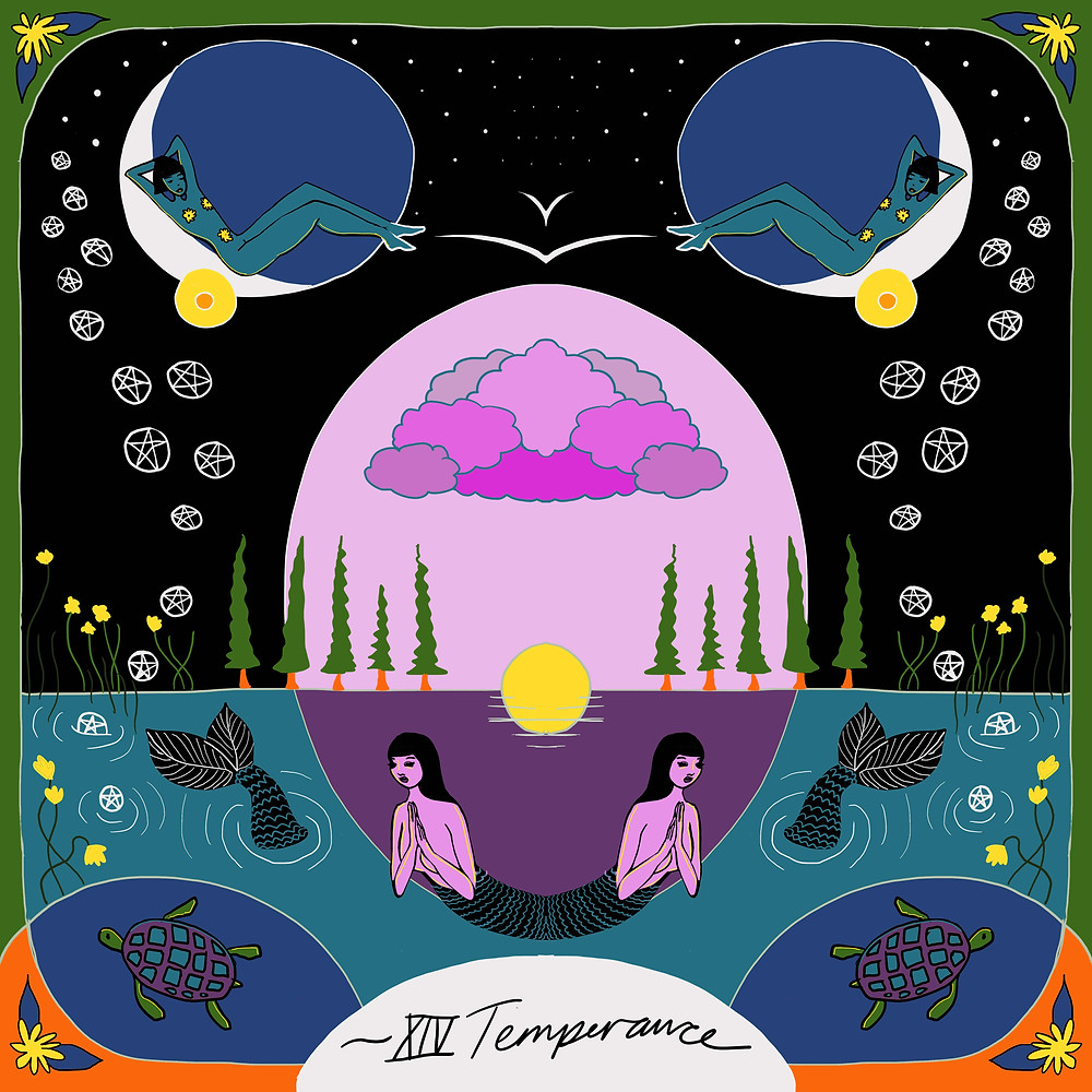 Temperance | Mother Tarot by Wren McMurdo Brignac