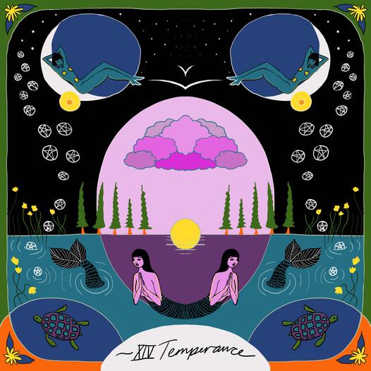 Mother Tarot: Temperance