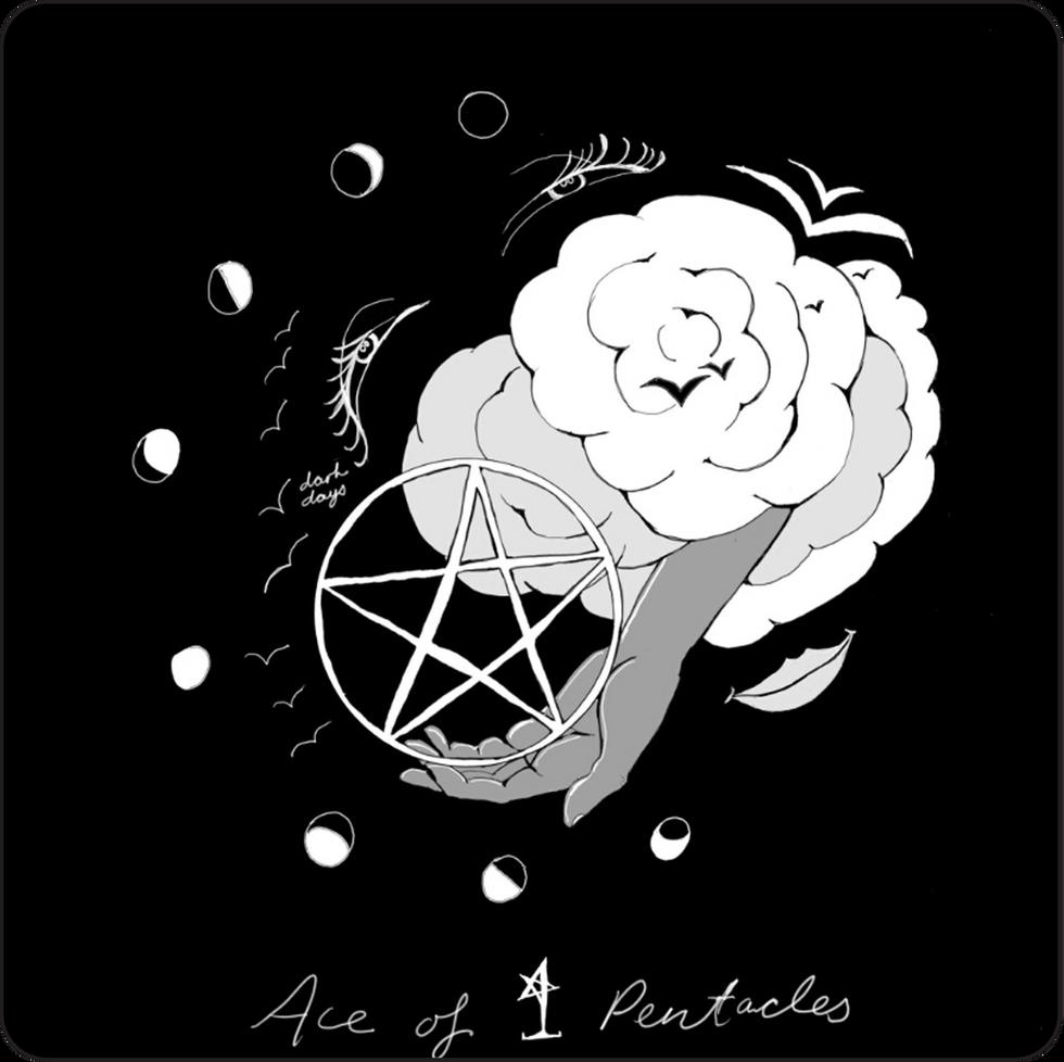 Ace of Pentacles - Minor Arcana Card