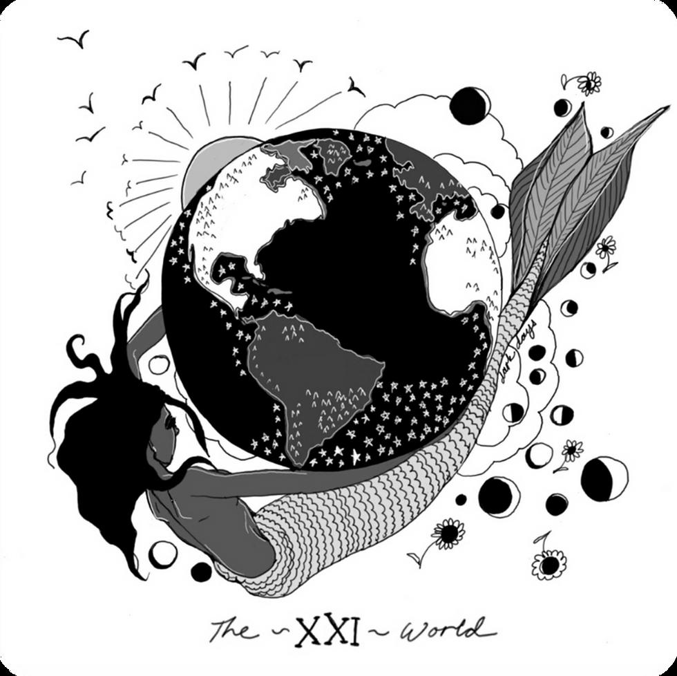 The World - Major Arcana Card #21