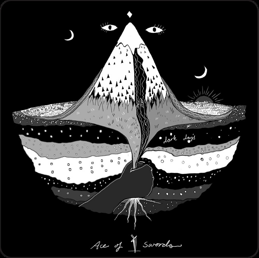 Ace of Swords / Dark Days Tarot
