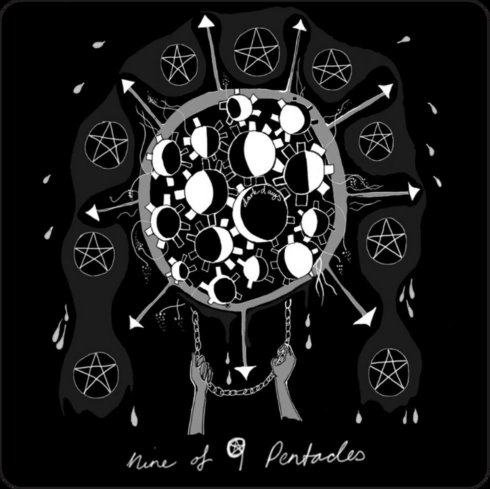 Nine of Pentacles - Minor Arcana Card