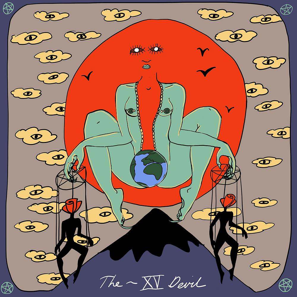 Mother Tarot Deck: the Devil | by Wren McMurdo