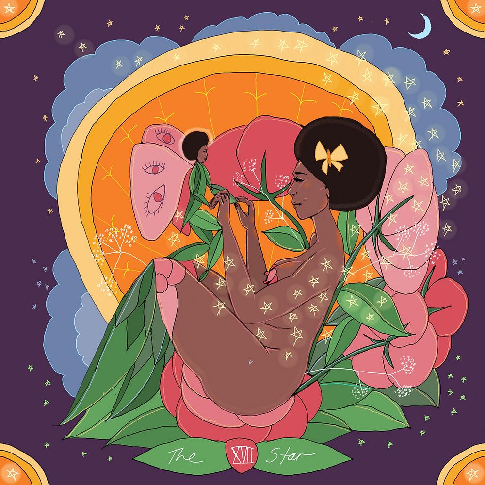The Star | Mother Tarot by Wren McMurdo Brignac