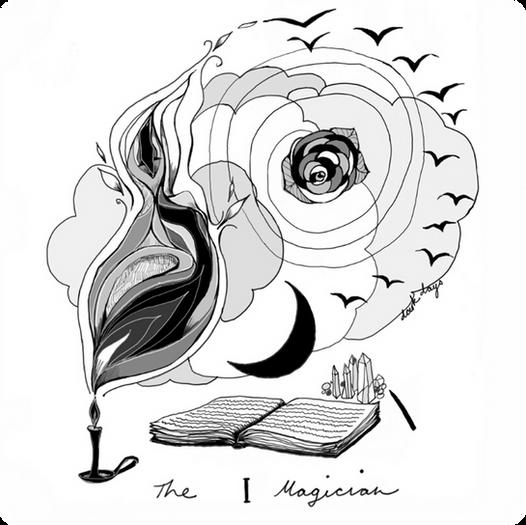 The Magician - Major Arcana Card #1