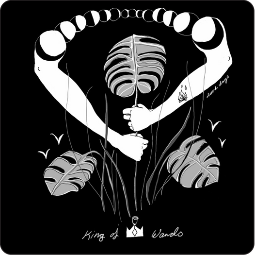King of Wands - Minor Arcana Card