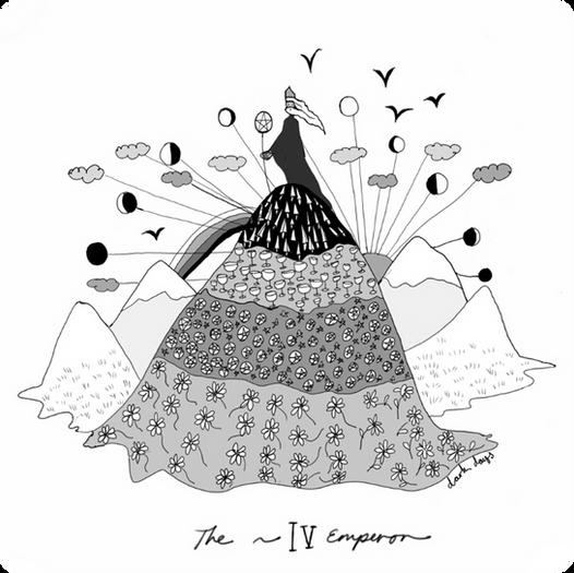 The Emperor - Major Arcana Card #4
