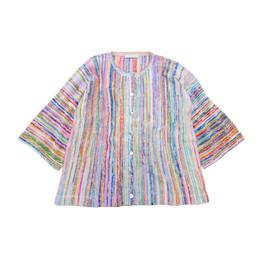 横編みカーディガン