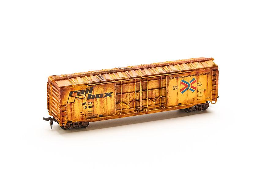 "HO Scale Model Train - ""Rail R Box"""