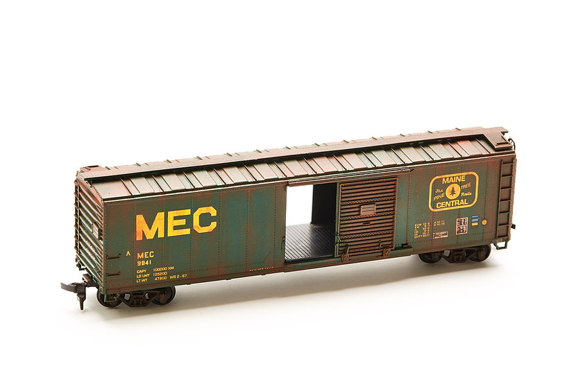 "HO Scale Model Train - ""Maine Central"""