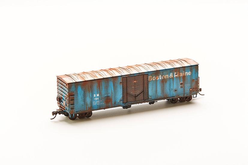"HO Scale Model Train - ""Boston & Maine"""