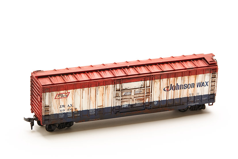 "HO Scale Model Train - ""North American - Johnson Wax"""