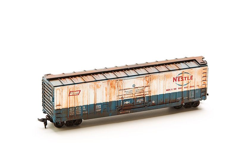 "HO Scale Model Train - ""North American - Nestle"""